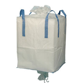 Okrągły FIBC Big Bag 100% Virgin Polypropylene 1 Tonne Jumbo Bag